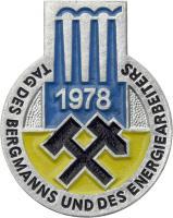 Tag des Bergmanns und des Energiearbeiters 1978