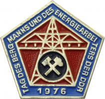 Tag des Bergmanns und des Energiearbeiters der DDR 1976