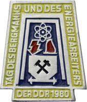 Tag des Bergmanns und des Energiearbeiters der DDR 1980