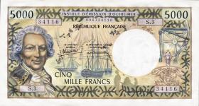 Tahiti, Frz. Übersee P.28d 5000 Francs (1985) (1)