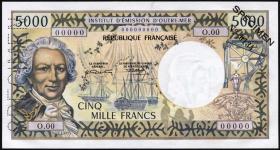 Tahiti P.28s 5000 Francs Specimen (1971) (1)