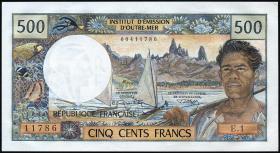 Tahiti P.25a 500 Francs (1970) (1)