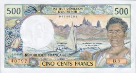 Tahiti P.25d 500 Francs (1985) (1)