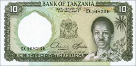 Tansania / Tanzania P.02d 10 Shillings (1966) (1)