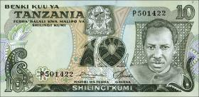 Tansania / Tanzania P.06a 10 Shillings (1978) (1)