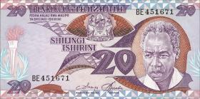Tansania / Tanzania P.12 20 Shillings (1986) (1)