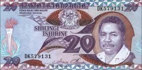 Tansania / Tanzania P.15 20 Shillings (1987) (1)