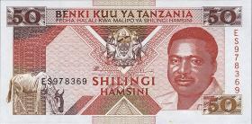 Tansania / Tanzania P.23 50 Shilings (1993) (1)