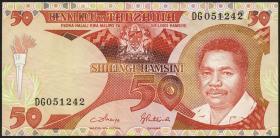 Tansania / Tanzania P.16c 50 Shillingi (1986) (3+)