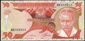 Tansania / Tanzania P.13 50 Shillings (1986) (1)