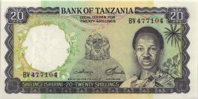 Tansania / Tanzania P.03c 20 Shillings (1986) (1)