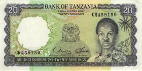 Tansania / Tanzania P.03d 20 Shillings (1966) (1/1-)