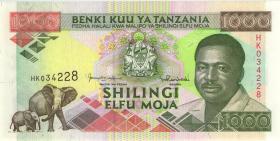 Tansania / Tanzania P.27c 1000 Shillings (1993) (1)
