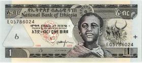 Äthiopien / Ethiopia P.46d 1 Birr 2006 (1)