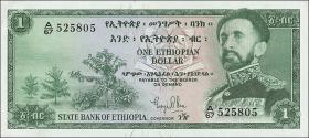 Äthiopien / Ethiopia P.18 1 Dollar (1961) (1/1-)