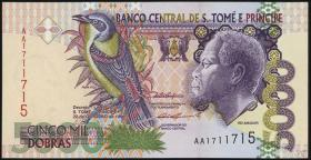 St. Thomas / Saint Thomas and Prince P.65b 5000 Dobras 1996 (1)
