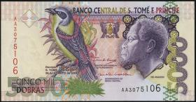 St. Thomas / Saint Thomas and Prince P.65c 5000 Dobras 2004 (1)