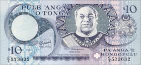 Tonga P.34 10 Pa´anga (1995) (1)