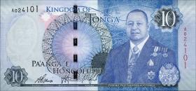 Tonga P.46 10 Pa'anga 2015 (1)