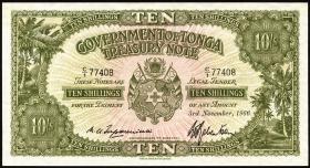 Tonga P.10e 10 Shillings 1966 (1)