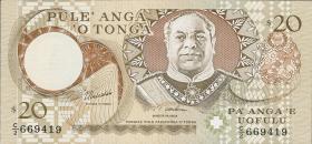 Tonga P.35c 20 Pa´anga (1995) (1)