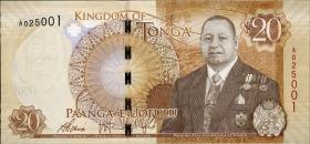 Tonga P.47 20 Pa'anga 2015 (1)