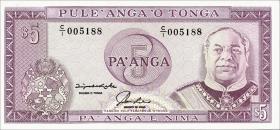 Tonga P.27 5 Pa´anga (1992-95) (1)