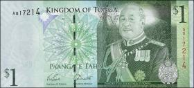 Tonga P.37b 1 Pa'anga (2013) (1)