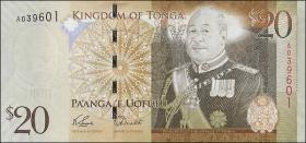 Tonga P.41a 20 Pa'anga (2008) (1)