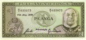 Tonga P.19c 1 Pa´anga 19.5.1989 (1)