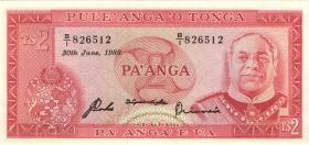 Tonga P.20c 2 Pa´anga 30.6.1989 (1)
