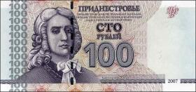 Transnistrien / Transnistria P.47a 100 Rubel 2007 (1)