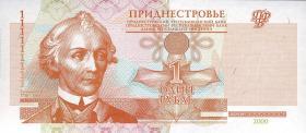 Transnistrien / Transnistria P.34 1 Rubel 2000 (1)