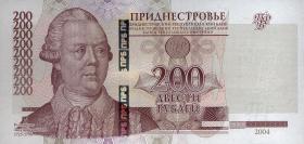 Transnistrien / Transnistria P.40c 200 Rubel 2004 (2013) (1)