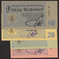 Notgeld Triberg 1 - 50 Reichsmark 1.5.1945