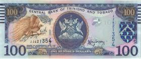 Trinidad & Tobago P.51b 100 Dollars 2006 (1)