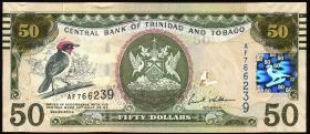Trinidad & Tobago P.50 50 Dollars 2006 (2012) (1)