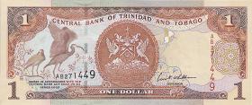 Trinidad & Tobago P.41 1 Dollar 2002 (1)