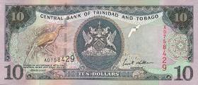 Trinidad & Tobago P.43 10 Dollars 2002 (1)