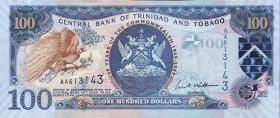 Trinidad & Tobago P.52 100 Dollars 2009 Gedenkbanknote (1)