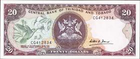 Trinidad & Tobago P.39b 20 Dollars (1985) (1)