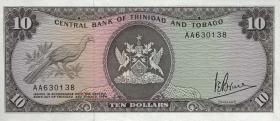 Trinidad & Tobago P.32 10 Dollars (1977) (1)