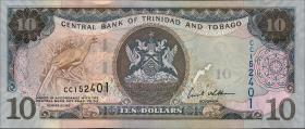 Trinidad & Tobago P.48 10 Dollars 2006 (1)