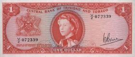 Trinidad & Tobago P.26c 1 Dollar L. 1964 (1)