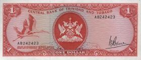 Trinidad & Tobago P.30a 1 Dollar (1977) (1)