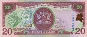 Trinidad & Tobago P.49 20 Dollars 2006 (1)