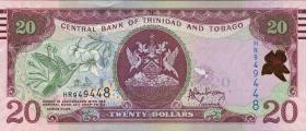 Trinidad & Tobago P.49A 20 Dollars 2006 (2015) (1)