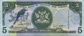 Trinidad & Tobago P.47 5 Dollars 2006 (1)