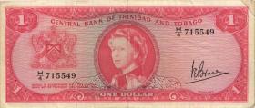 Trinidad & Tobago P.26c 1 Dollar L. 1964 (3)