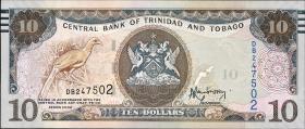 Trinidad & Tobago P.57 10 Dollars 2006 (2015) (1)
